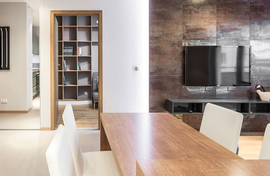 KUCHNIA, SALON, POKÓJ BIUROWY | Kitchen, livingroom, office