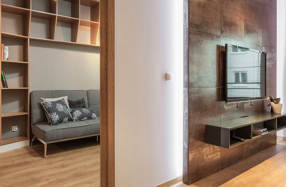 SALON, POKÓJ BIUROWY   Livingroom, office